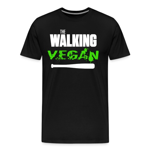 walking vegan 1 - T-shirt Premium Homme