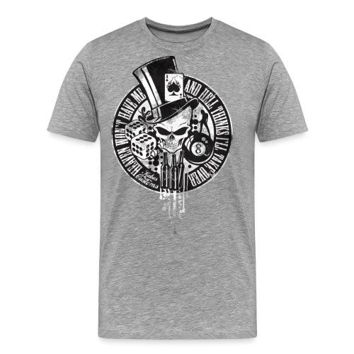 Kabes Heaven & Hell T-Shirt - Men's Premium T-Shirt