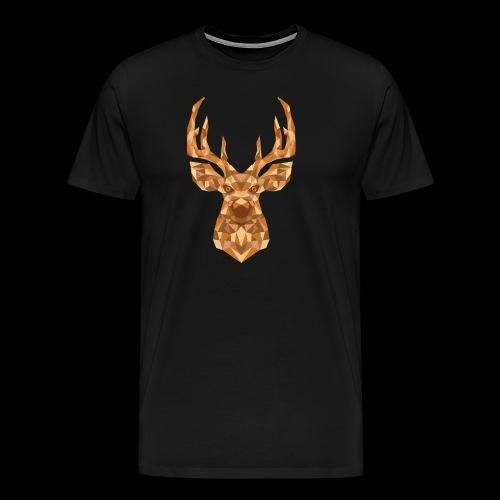 Deer-ish - Koszulka męska Premium