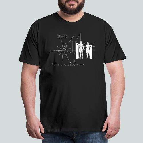 Snowboard Pioneer Plaque - T-shirt Premium Homme