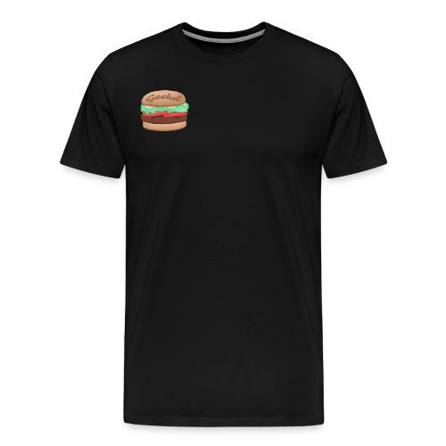 GEEKD BURGER SERIES - Männer Premium T-Shirt