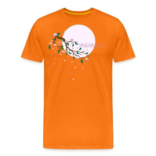 Cherry Blossom Festval Full Moon 1 - Männer Premium T-Shirt