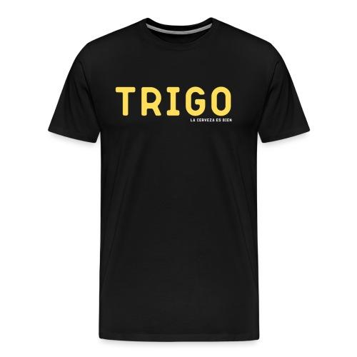 TRIGO - Camiseta premium hombre