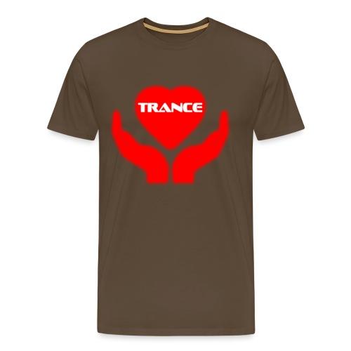 Trancehart - Premium-T-shirt herr