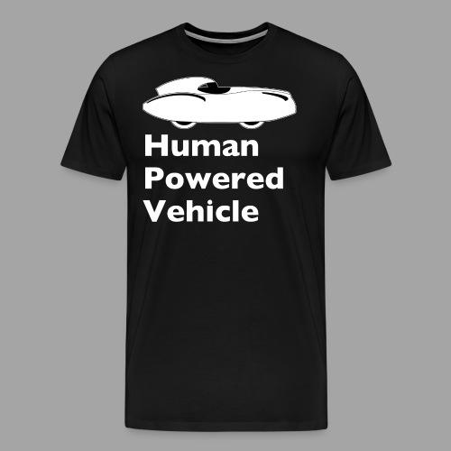 Quattrovelo Human Powered Vehicle white - Men's Premium T-Shirt