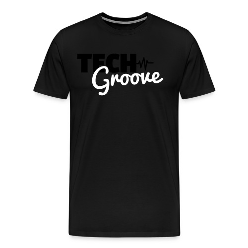 tech-groove-logo - Men's Premium T-Shirt