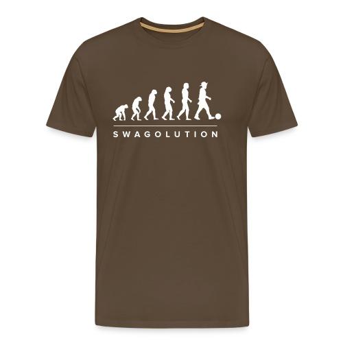 Swagolution_design_pngNEU - Männer Premium T-Shirt