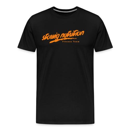Storvig Nutrition Fitness Team - Premium T-skjorte for menn