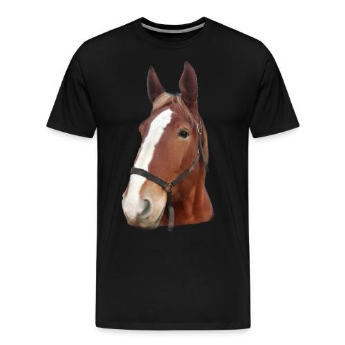 Tapis de souris HORSE - T-shirt Premium Homme