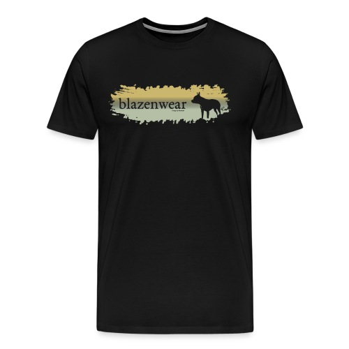 Dog Brush - Männer Premium T-Shirt