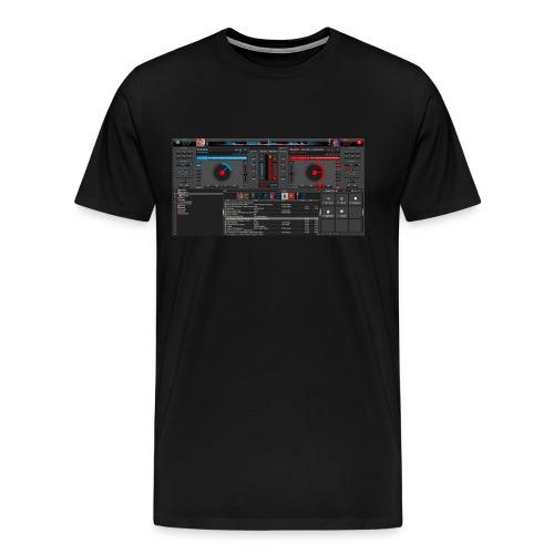 dj - Camiseta premium hombre