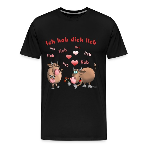 Liebe - Heiratsantrag - Männer Premium T-Shirt