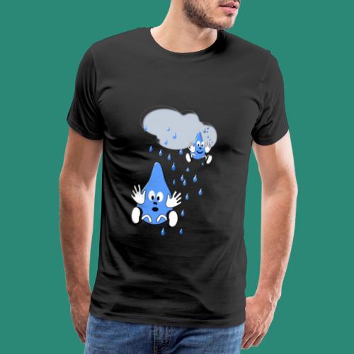 Regen,Regen - Männer Premium T-Shirt
