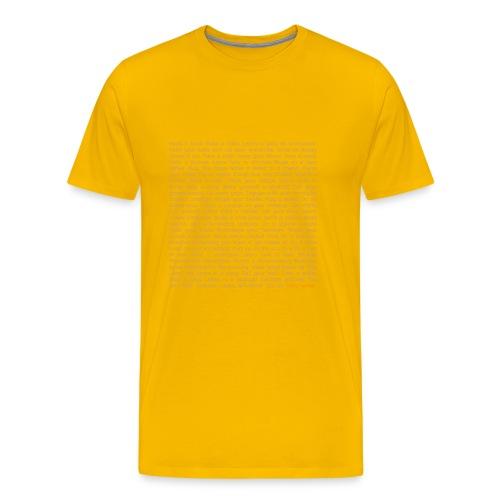 STAY HOME. - Männer Premium T-Shirt