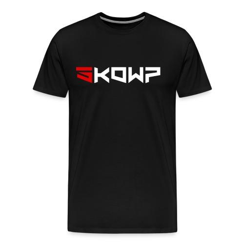 Sk0Wp Rouge et Blanc - T-shirt Premium Homme