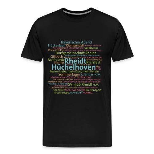 cloud rheidt huechelhoven - Männer Premium T-Shirt