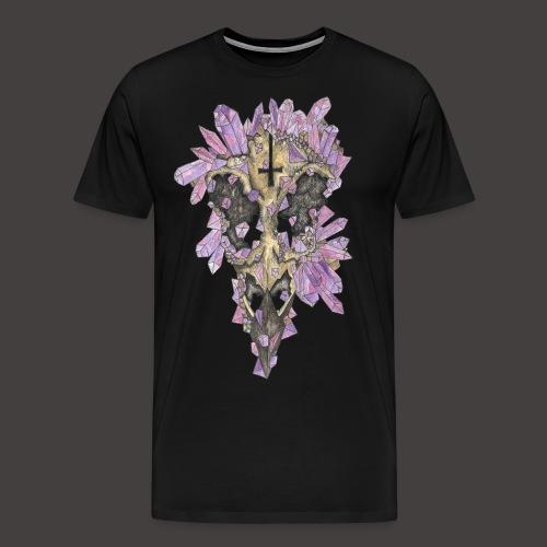 Le Corbeau de Cristal Couleur - T-shirt Premium Homme