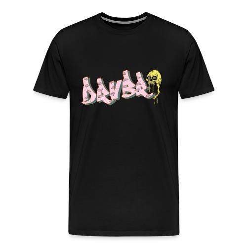 Hustle 3 A png - Männer Premium T-Shirt