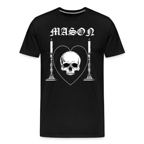 Frimurartröja png - Premium-T-shirt herr