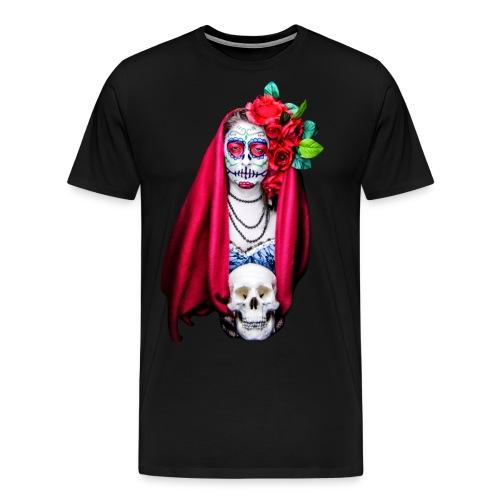 Catrina Calavera - Camiseta premium hombre