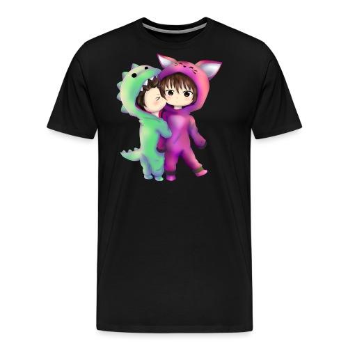 MexiKissFufu3 Kopie tshirt png - Männer Premium T-Shirt