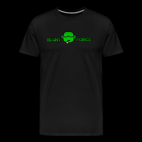 The Blunt Force - Premium-T-shirt herr