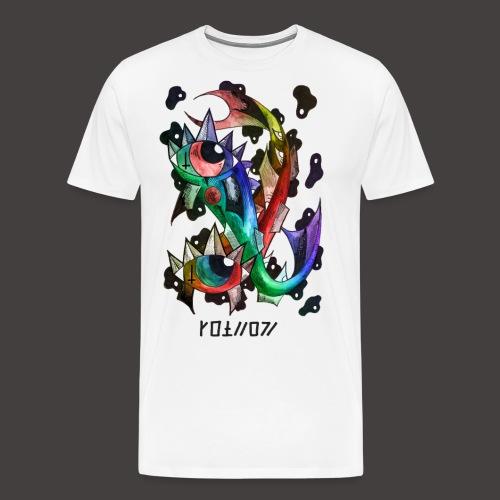 Poisson multi-color - T-shirt Premium Homme