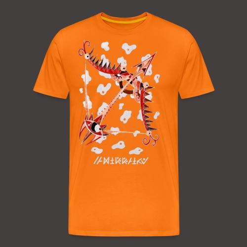 Sagittaire Négutif - T-shirt Premium Homme