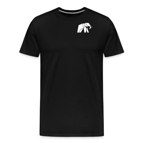 Schönes Elefanten Design für Elefanten Fans - Männer Premium T-Shirt