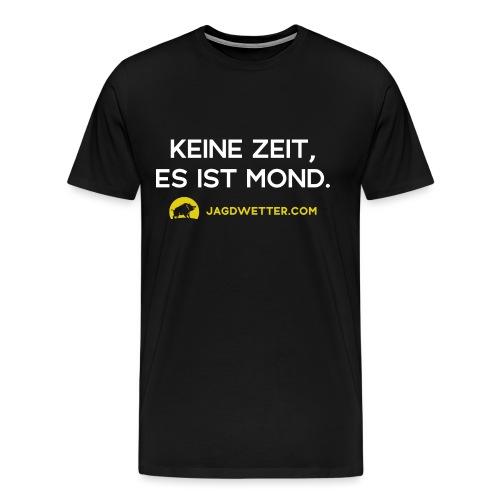 spruch mond weiss url gelb png - Männer Premium T-Shirt