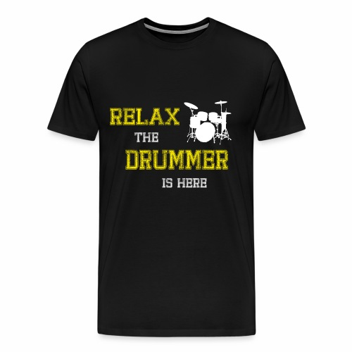 Relax Drummer - Men's Premium T-Shirt