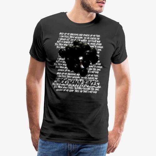 Too many faces (NF) - Men's Premium T-Shirt