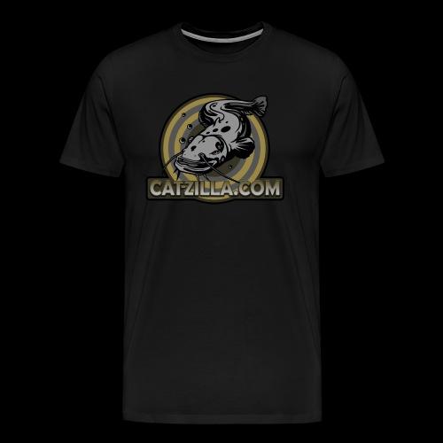 catzilla_STICKERRUND_NEU3 - Männer Premium T-Shirt