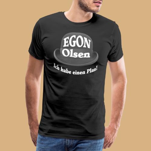 Egon Olsen ich habe einen Plan DDR Kult DEFA - Männer Premium T-Shirt
