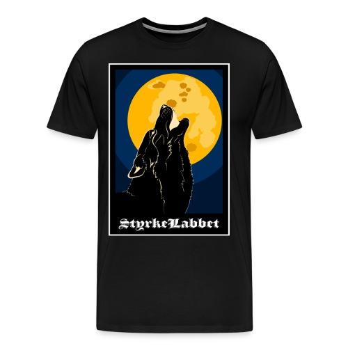 Hela världens favoritvarg - Premium-T-shirt herr
