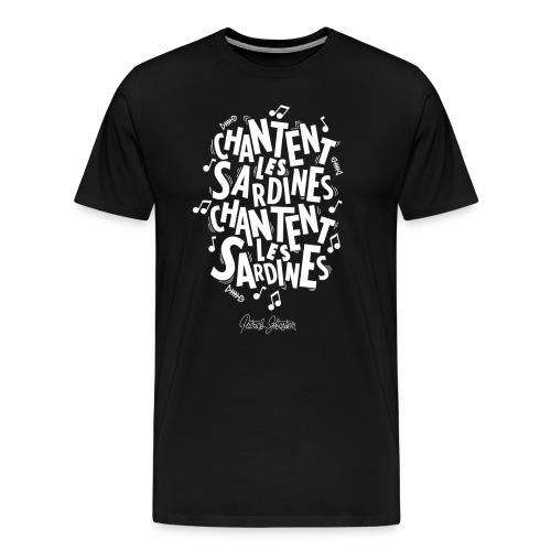 Les Sardines - T-shirt Premium Homme