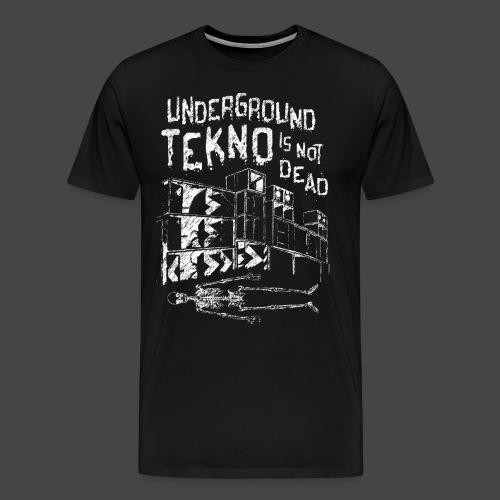 TEKNO SOTTERRANEO NON È MORTO - TEKNO 23 - Maglietta Premium da uomo