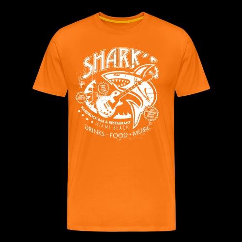 Shark´s Hardrock Bar & Restaurant - Männer Premium T-Shirt