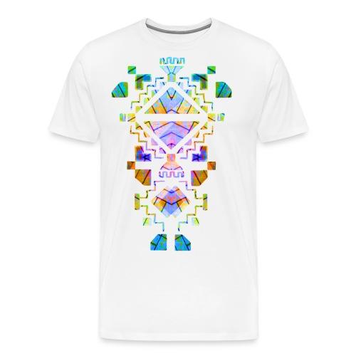 VEYM Farbenfroh BRIGHT - Männer Premium T-Shirt