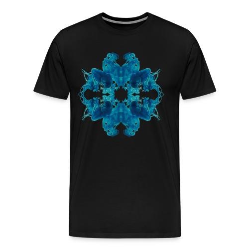 Tintenklecks unter Wasser - Männer Premium T-Shirt