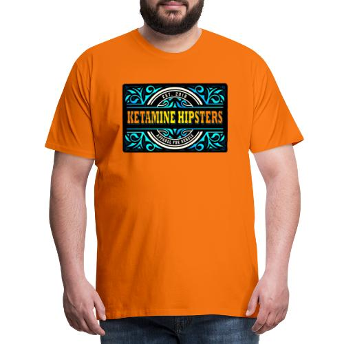 Black Vintage - KETAMINE HIPSTERS Apparel - Men's Premium T-Shirt