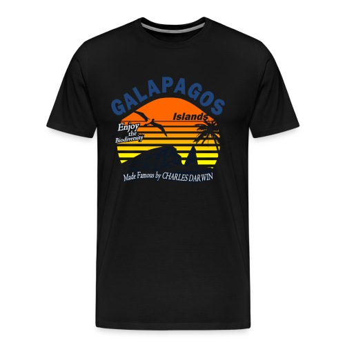Galapagos Islands - Men's Premium T-Shirt