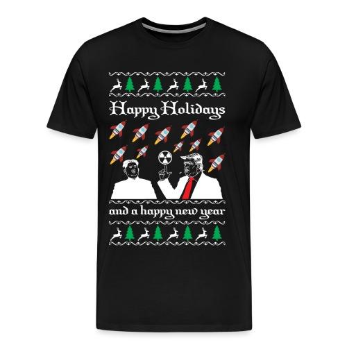 Strahlendes Neujahr - Männer Premium T-Shirt