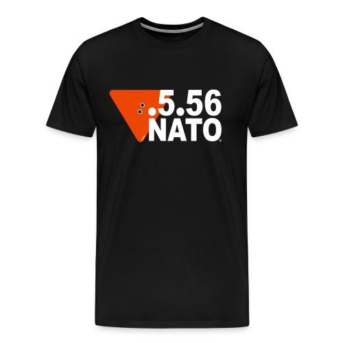 .5.56 NATO BLANC - T-shirt Premium Homme
