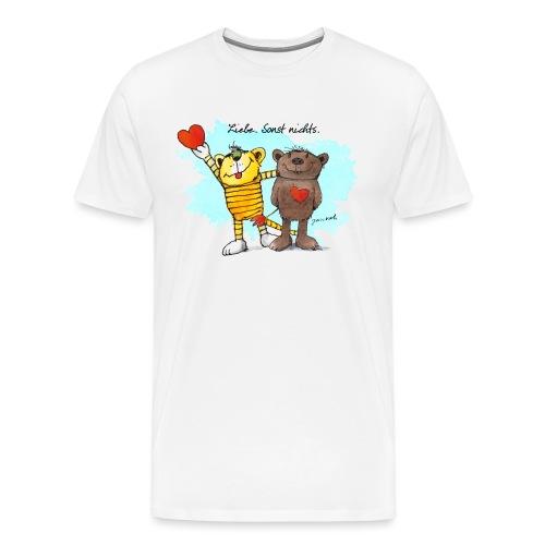 Janosch Tiger Und Bär Beste Freunde Liebe - Männer Premium T-Shirt