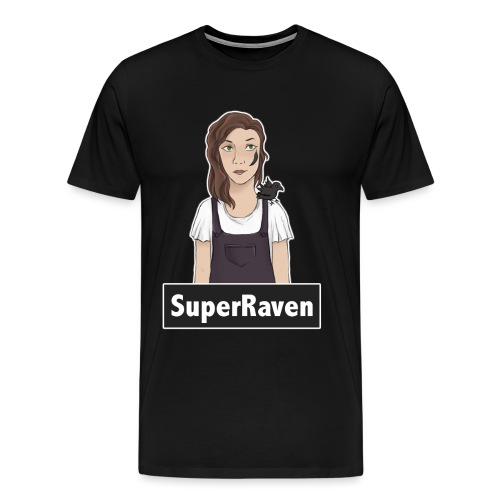 SuperRaven - Men's Premium T-Shirt