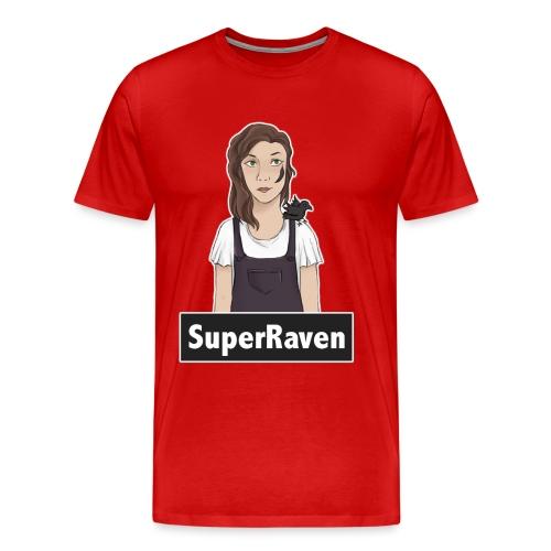 SuperRaven - Men's Premium T-Shirt
