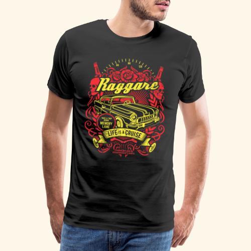 Raggare T-Shirt Life is a Cruise - Männer Premium T-Shirt