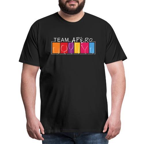 TEAM APÉRO - T-shirt Premium Homme