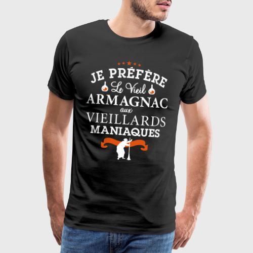 Vieil Armagnac - Humour Alcool - T-shirt Premium Homme